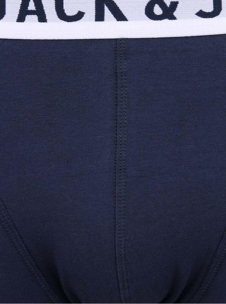 Boxeri bleumarin cu logo - Jack & Jones Sense