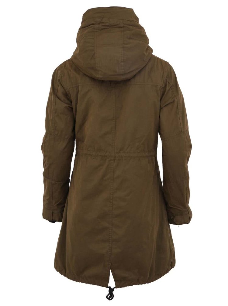 Zelená parka 2v1 Maison Scotch Technical