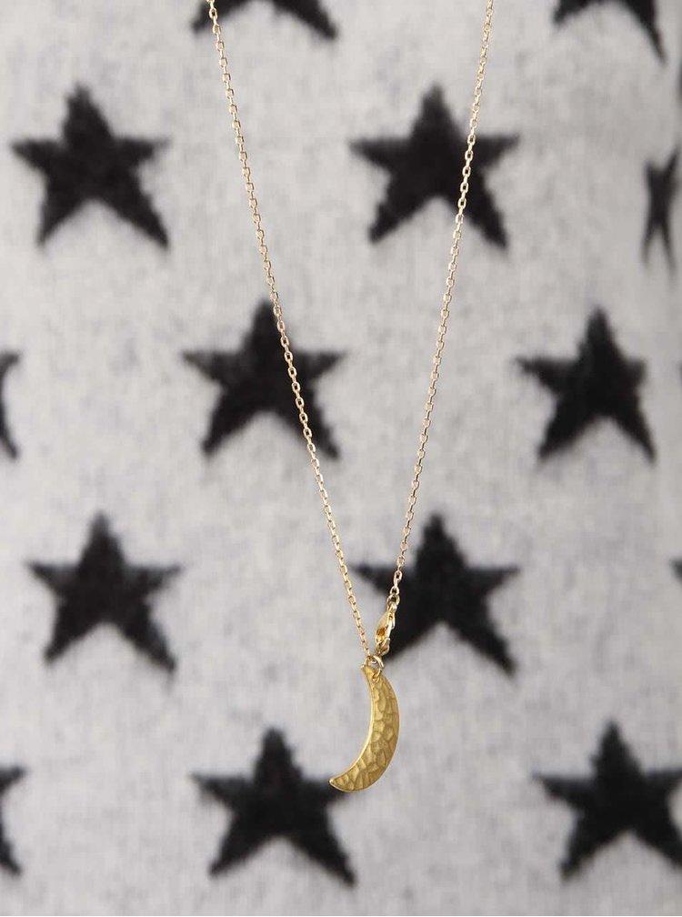 Čierno-biely mohérový sveter s hviezdami Maison Scotch