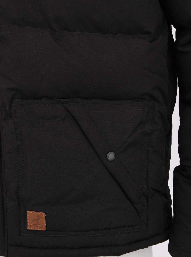 Černá zimní bunda Fat Moose Canada