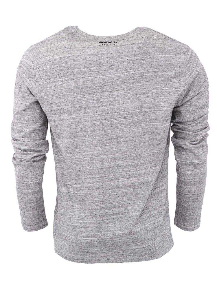 Šedé pánské tričko ZOOT Originál Pocket Černá