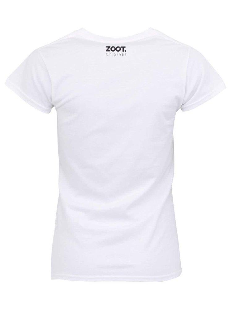 Biele dámske tričko ZOOT Originál Zapletla jsem se
