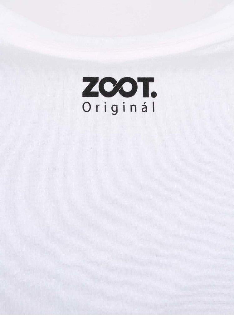 Biele dámske tričko ZOOT Originál Jsem grogy