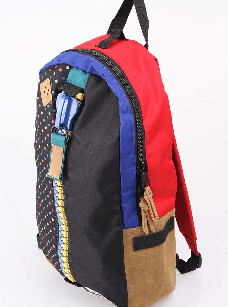 Černý puntíkovaný batoh SUPE design