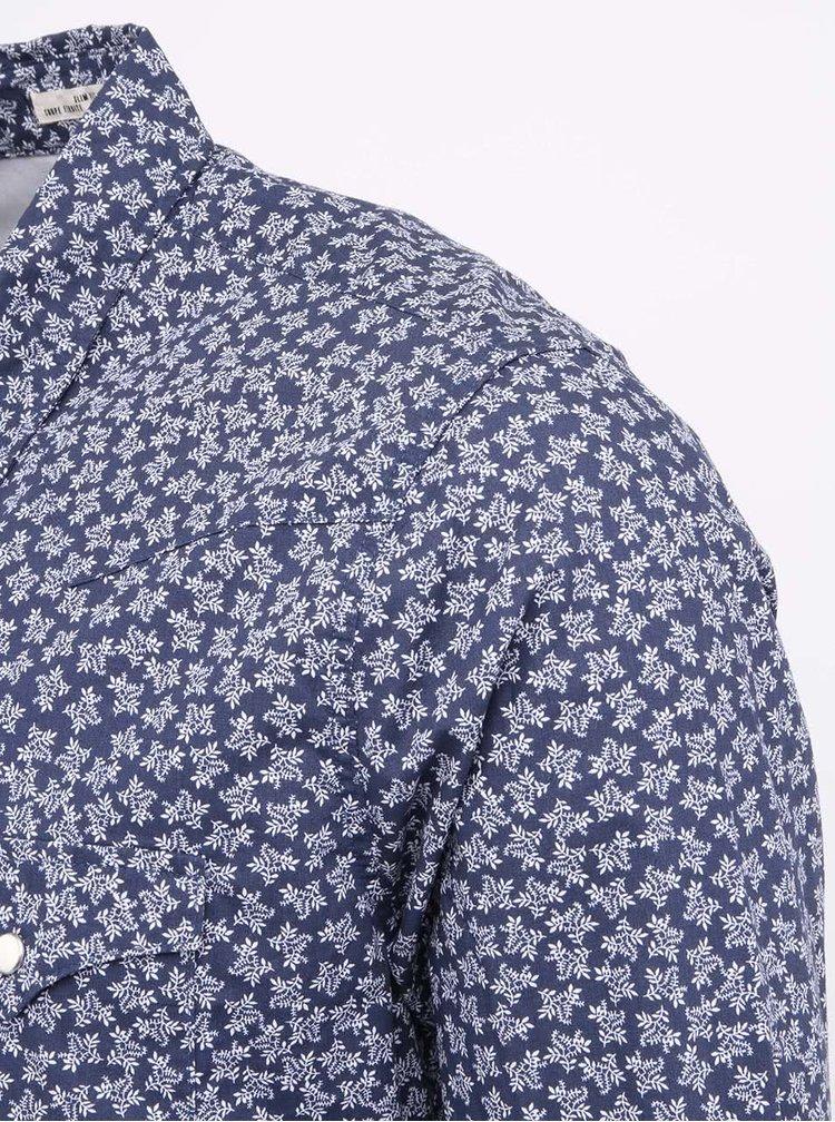 Modrá pánska košeľa so vzorom vetvičiek Levi's®