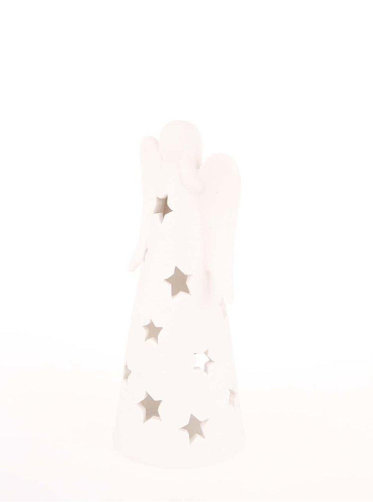 Sfesnic in forma de inger alb su stele de la Dakls
