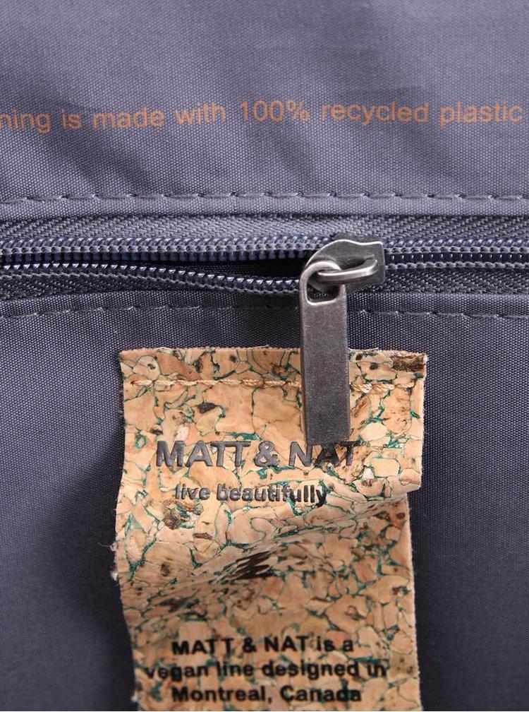 Šedofialový batoh Matt & Nat Brave