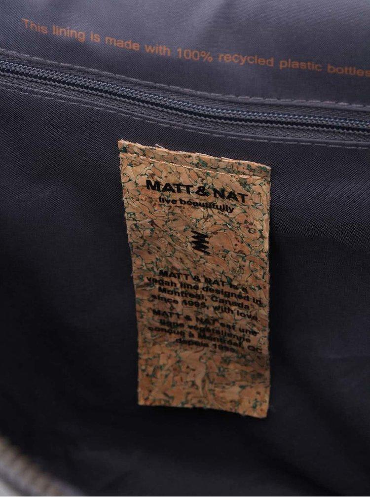 Tmavě šedá kabelka Matt & Nat Wellington