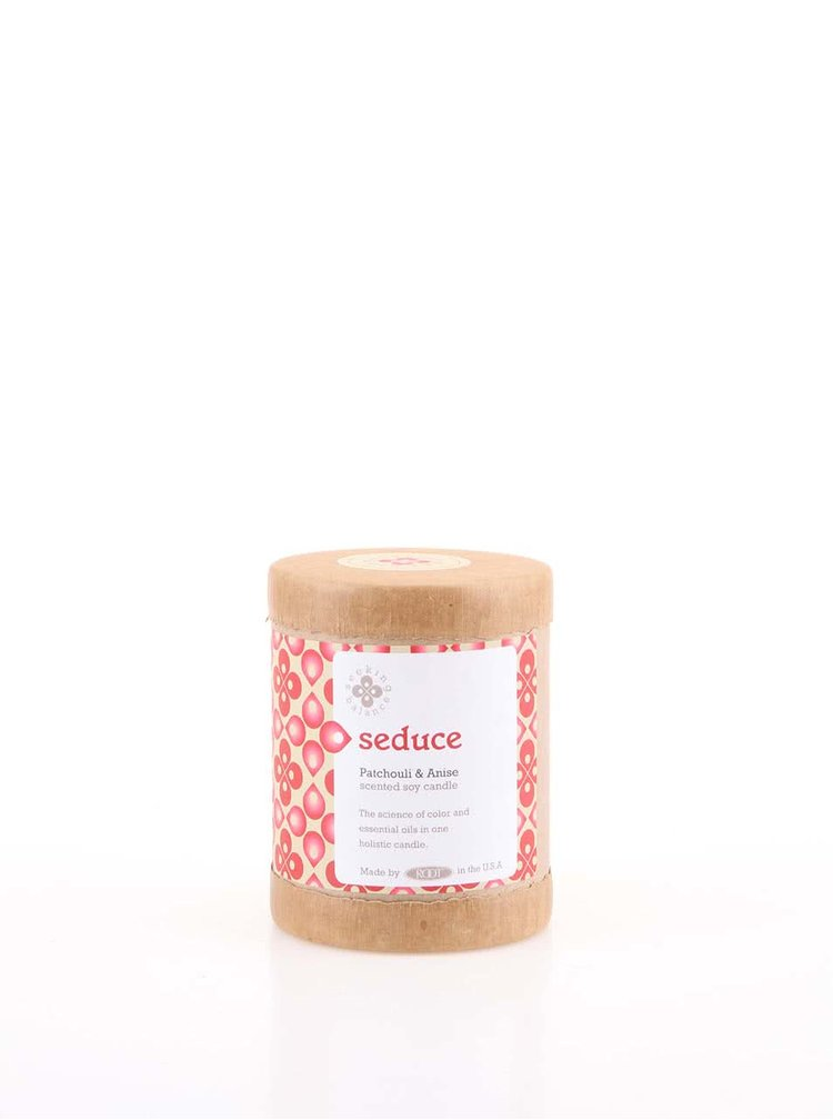 Červená vonná svíčka Root Candles Patchouli & Anise - Seduce