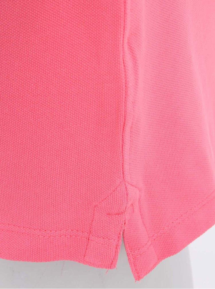 Ružové pánske polo tričko Stanley & Stella Performs