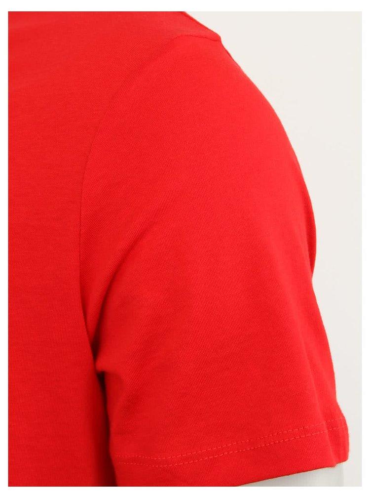 Červené pánske tričko Stanley & Stella Leads