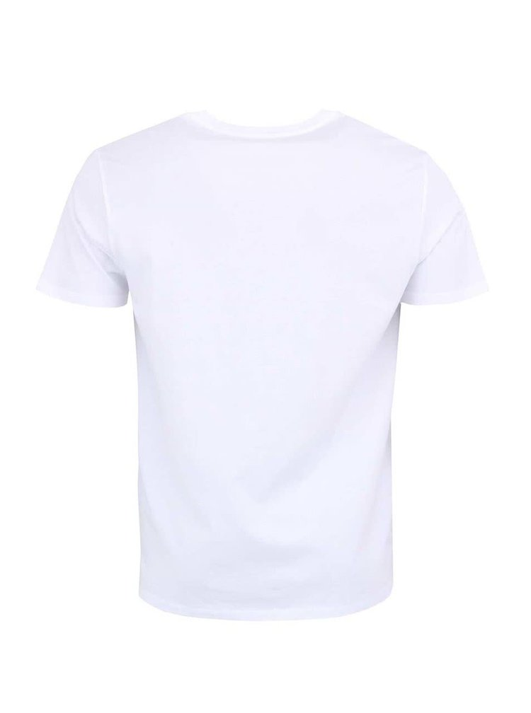 Žiarivo biele pánske tričko Stanley & Stella Expects