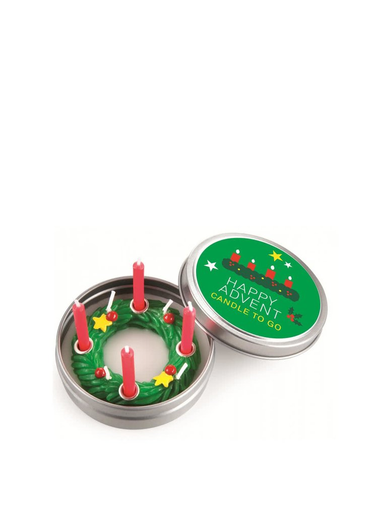 Vánoční svíčka do kapsy Donkey Happy Advent