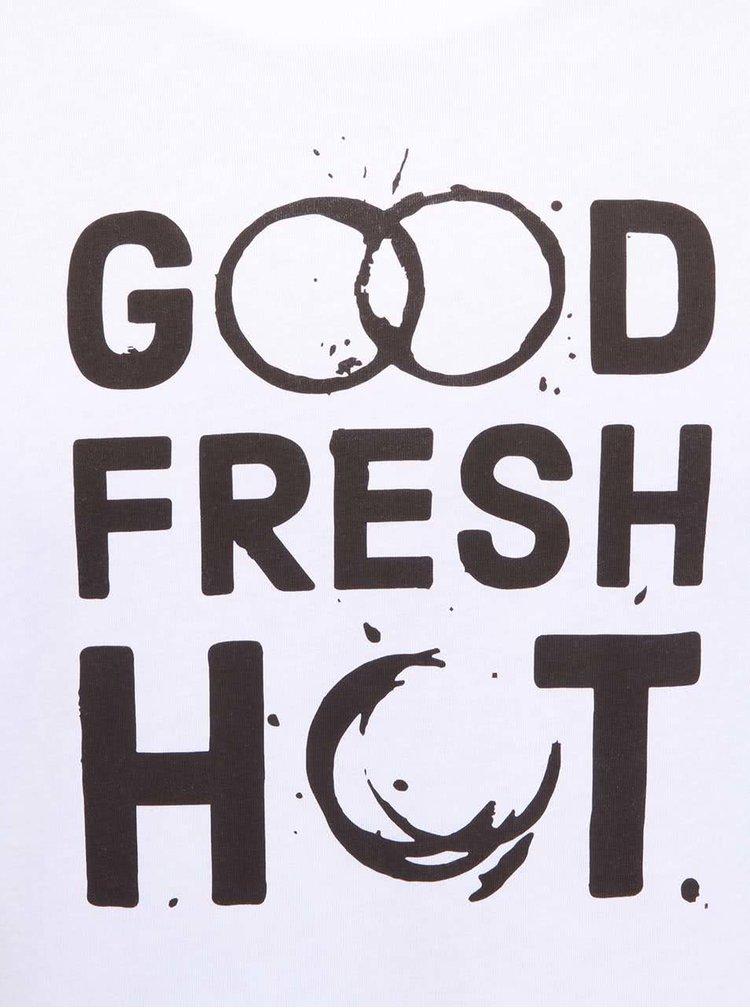 Bílé pánské triko ZOOT Original Good Fresh Hot