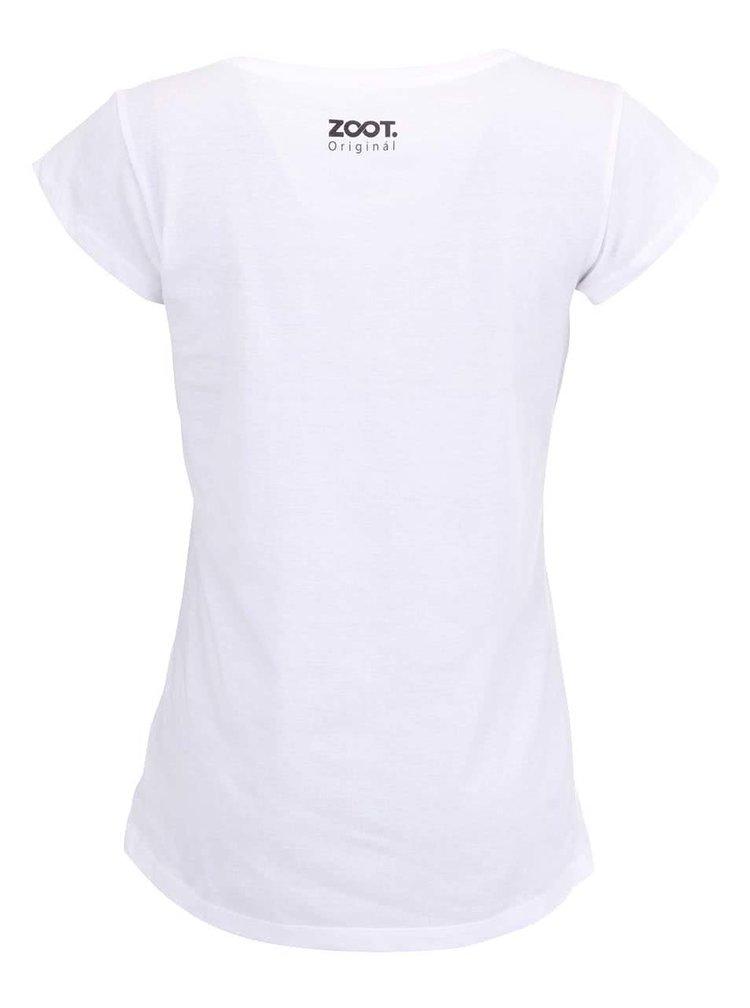 Biele dámske tričko ZOOT Original Good Fresh Hot