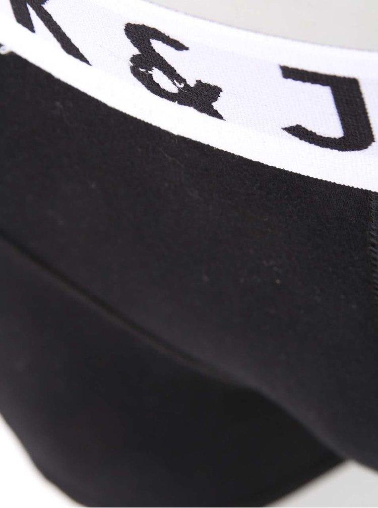 Čierne boxerky Jack & Jones Sense