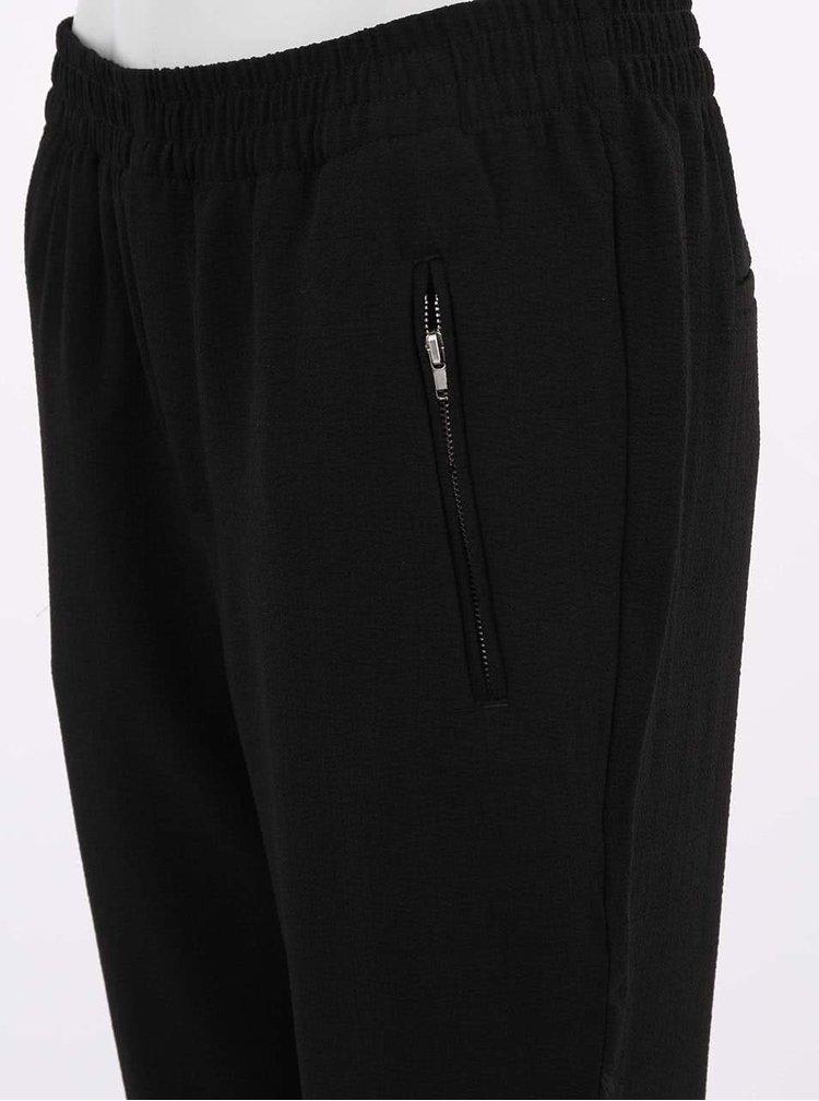 Čierne voľné nohavice VERO MODA Great