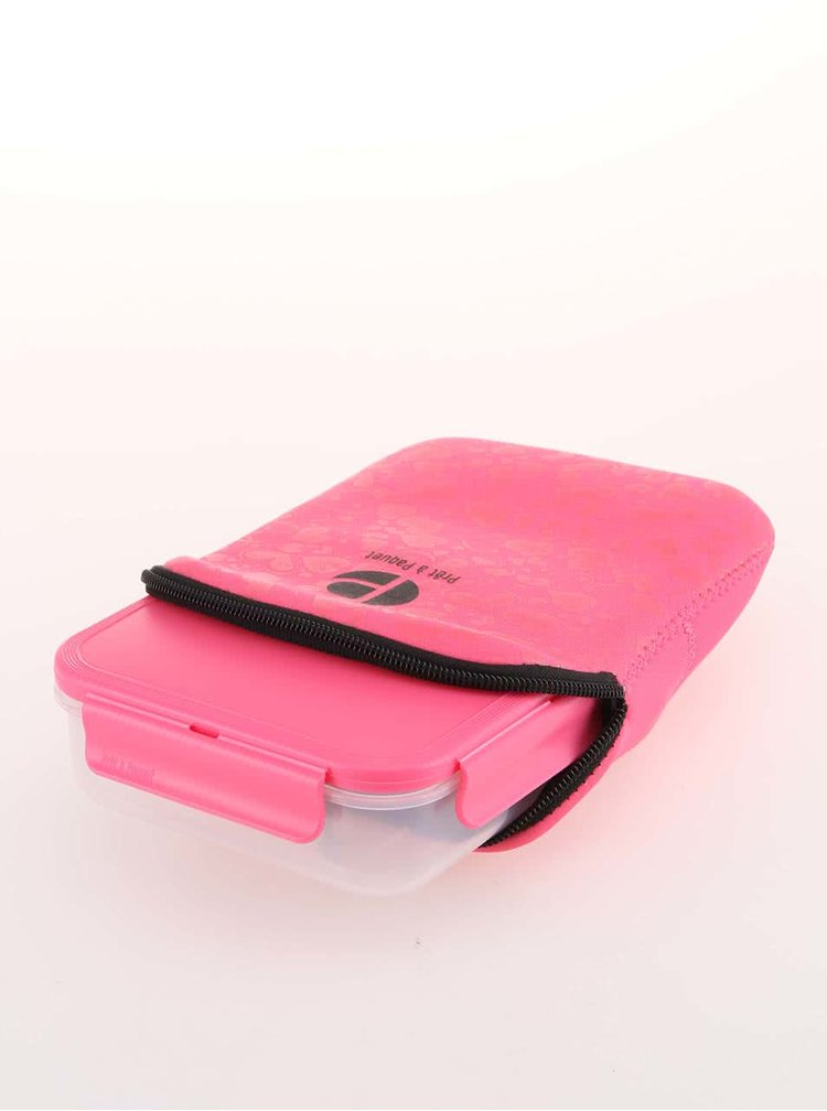 Cutie roz pentru sandwich de la Prêt à Paquet