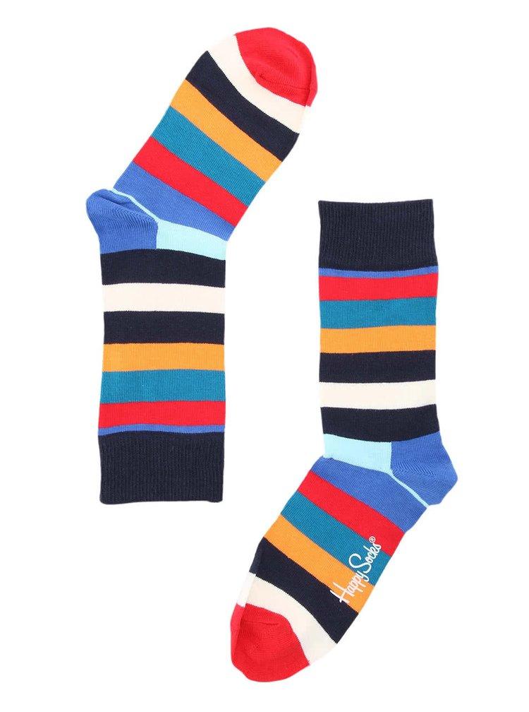 Șosete unisex colorate cu dungi de la Happy Socks