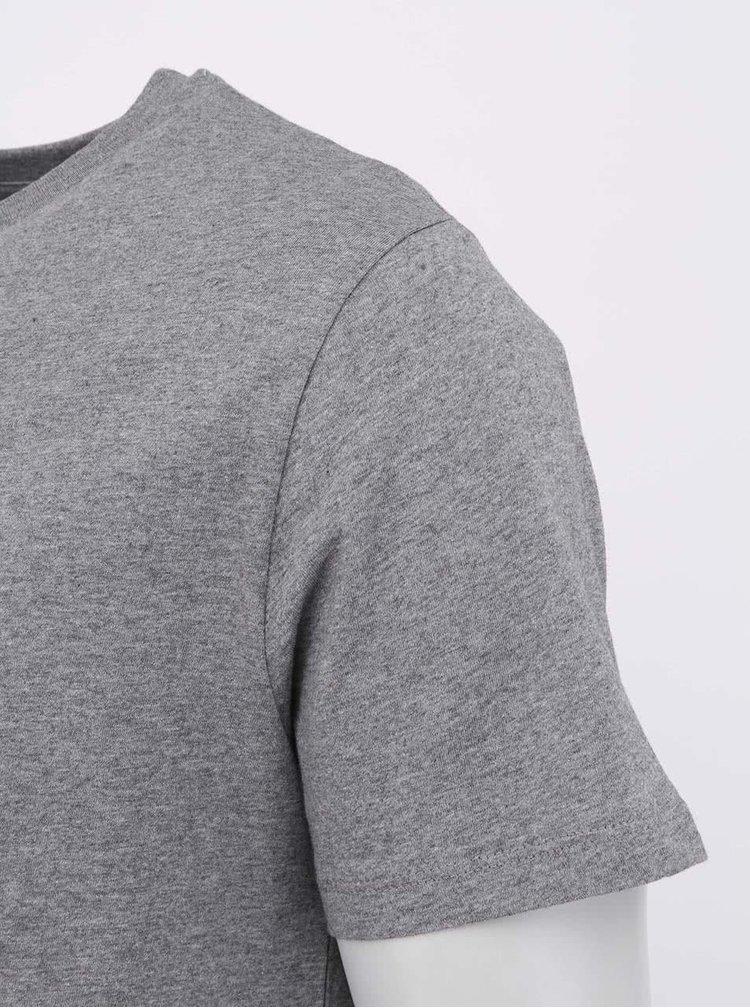 """""""Dobré"""" šedé dámské triko s bludištěm Cesta domů"""