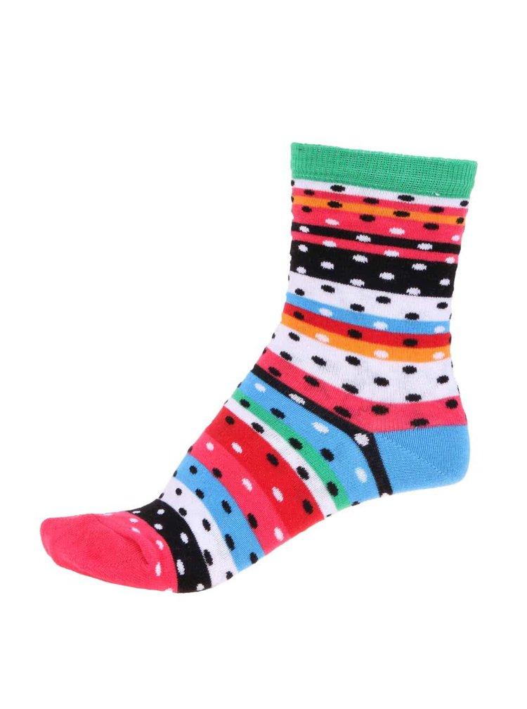 Súprava šiestich farebných dámskych ponožiek Oddsocks Cotton Kandy