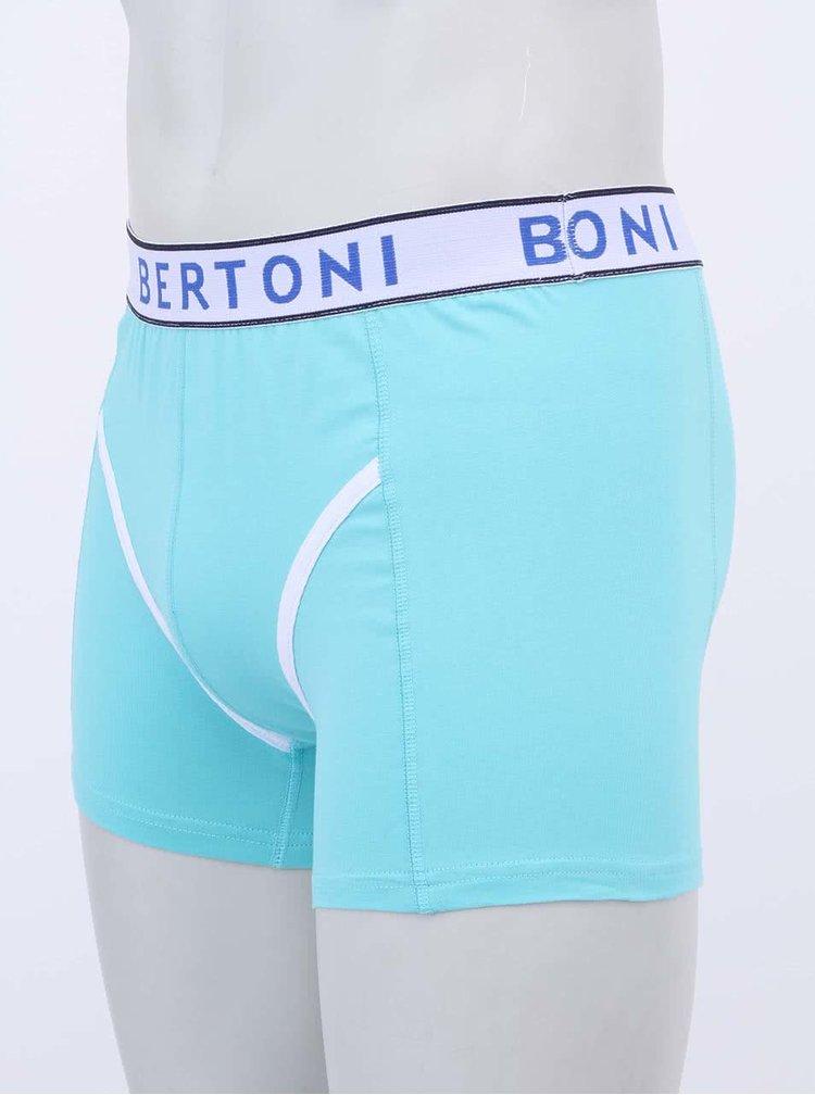 Set zelených a žlutých boxerek Bertoni