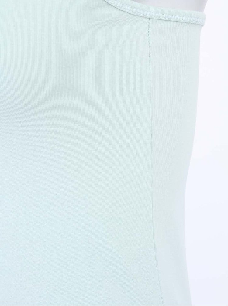 Svetlozelené dlhšie tielko Vero Maxi My