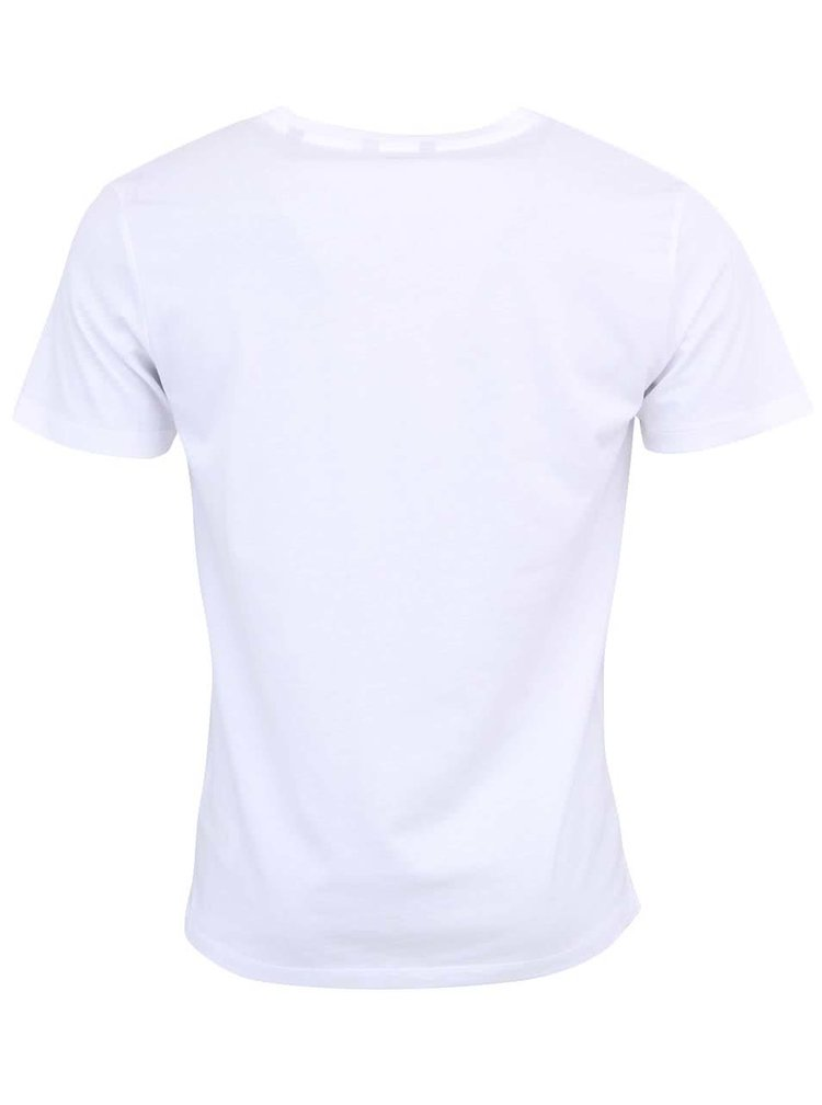 Tricou basic ONLY & SONS cu decolteu in V - alb