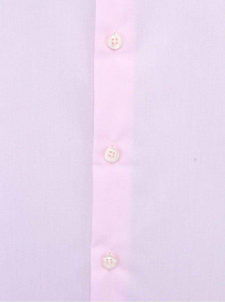 Cămașă regular fit, roz, Kent Classic Patch 98 de la Seidensticker