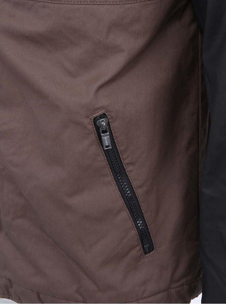 Černo-hnědá pánská bunda Blend