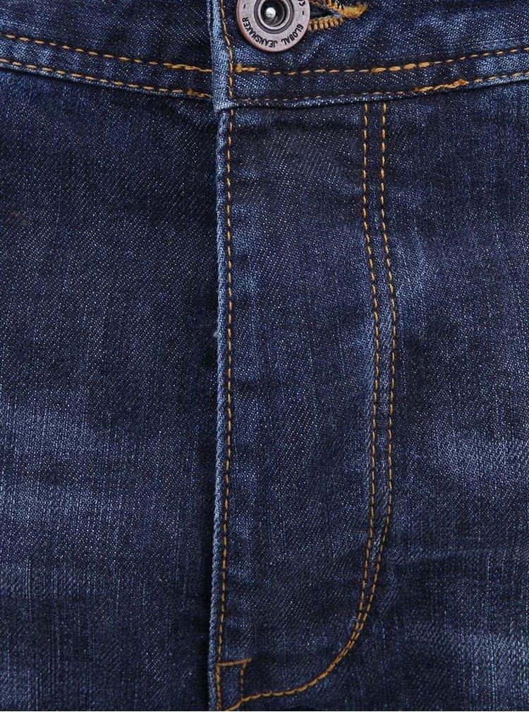 Jeanși bărbătești albaștri uzați de la Blend