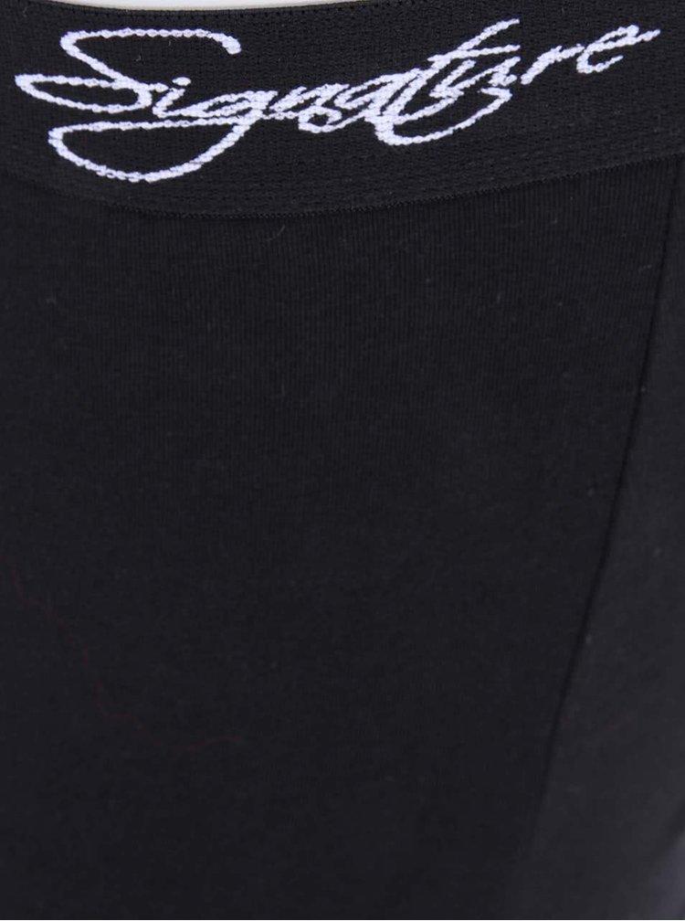 Set 2 perechi boxeri negru&roșu Signature