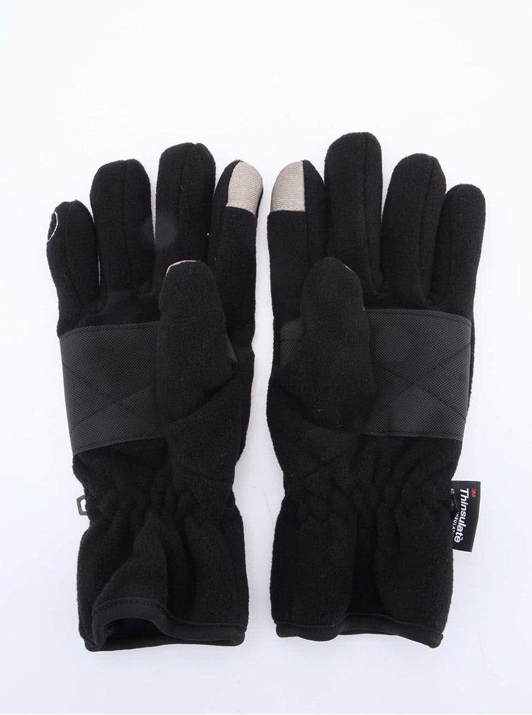 Mănuși negre pentru femei Bluetooth Handsfree Something Special