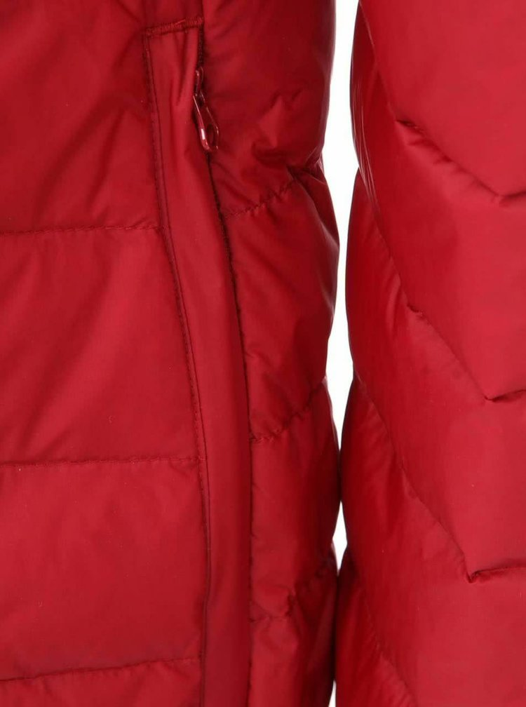 Červená prešívaná bunda Selected Homme Drift