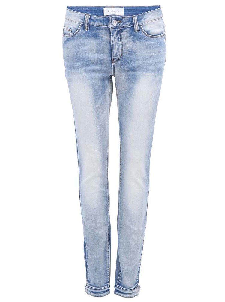Světle modré slim džíny VERO MODA Wanni