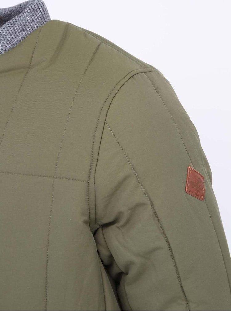 Zelená pánská bunda Bellfield Heroy
