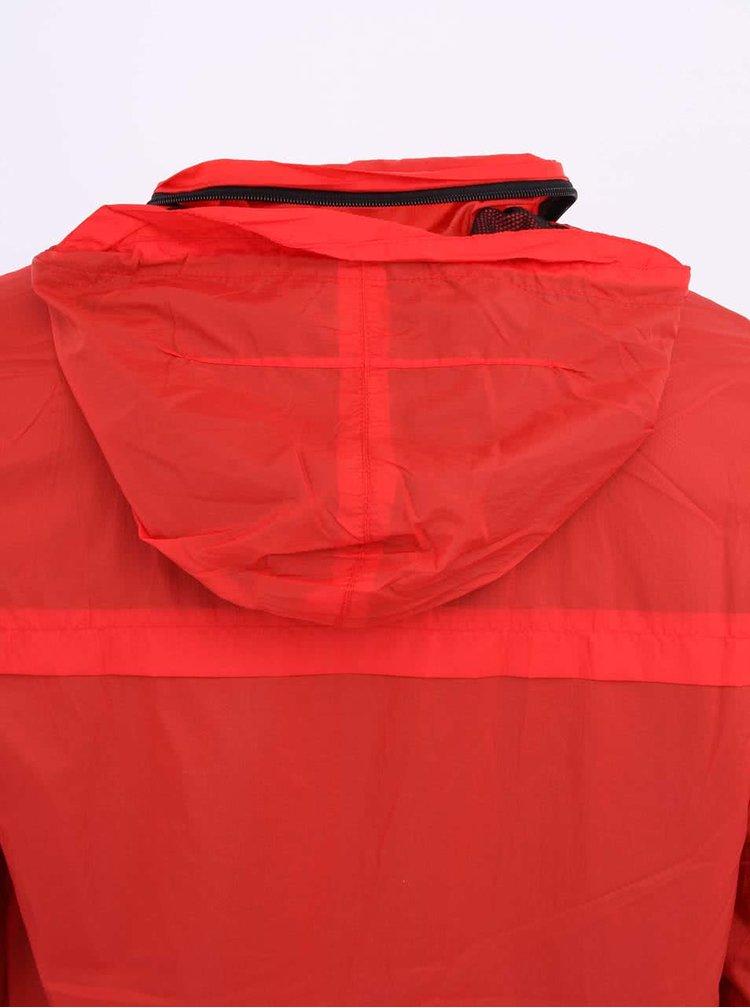 Jachetă bărbătească roșie din nailon Bellfield