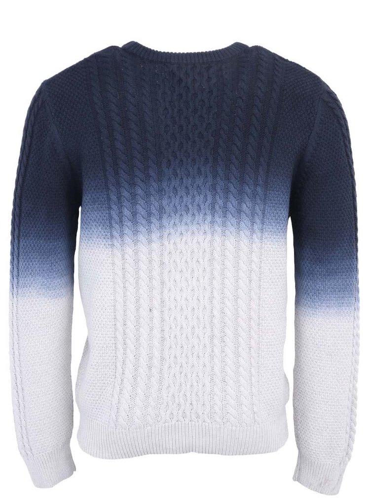Modro-bílý svetr Bellfield Montreal