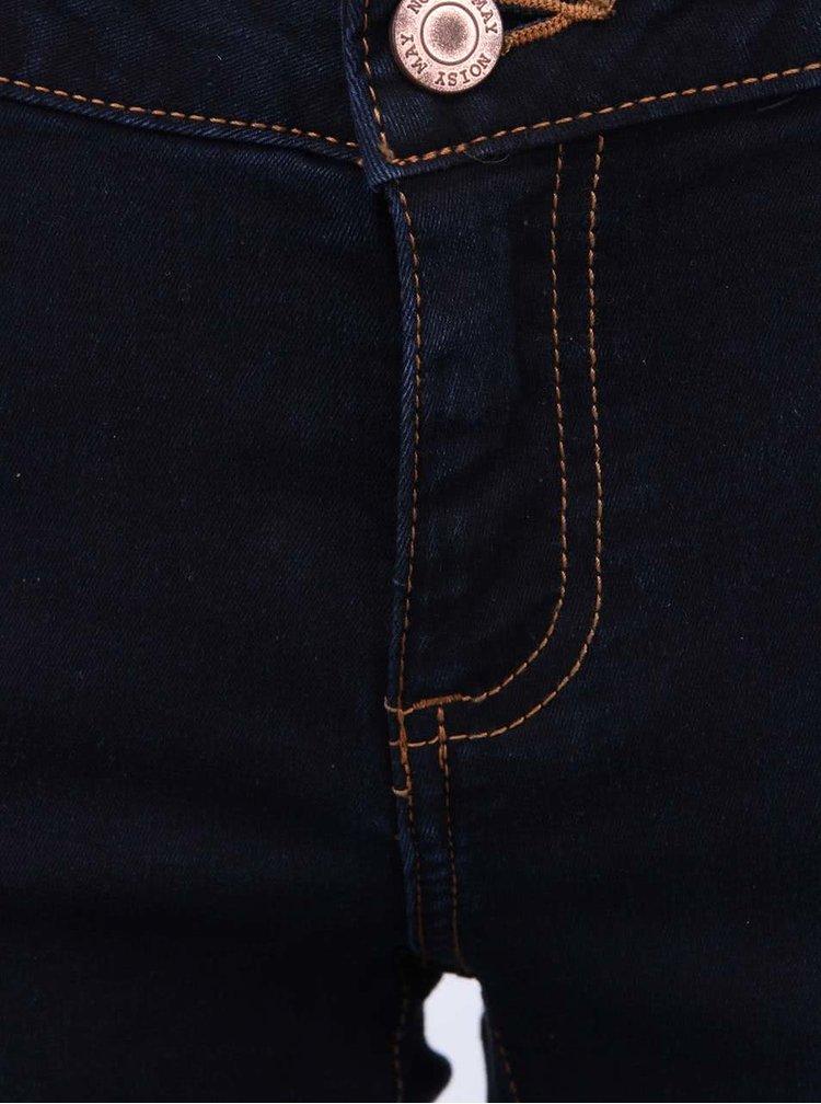 Tmavě modré slim džíny Noisy May Eve