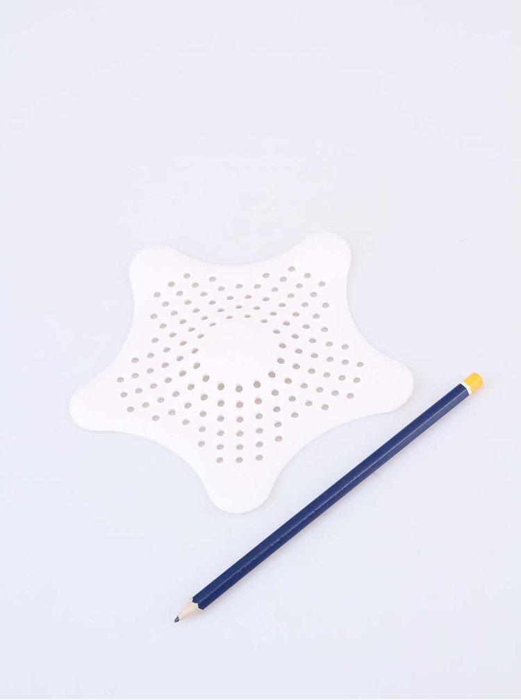 Bílé sítko do sprchy Umbra Starfish