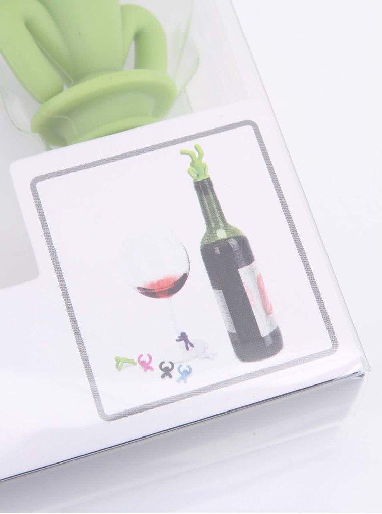 Set multicolor pentru vin UMBRA Buddy