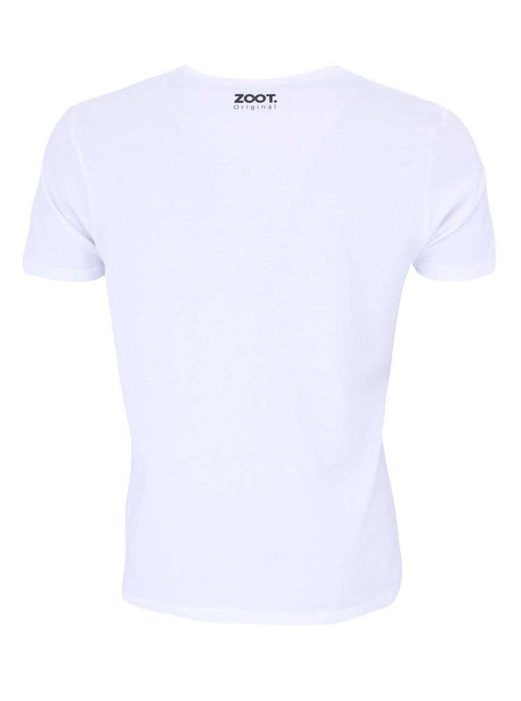 Biele unisex tričko ZOOT Originál Z