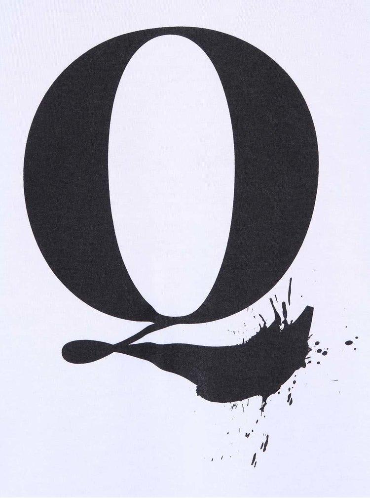 Biele unisex tričko ZOOT Originál Q