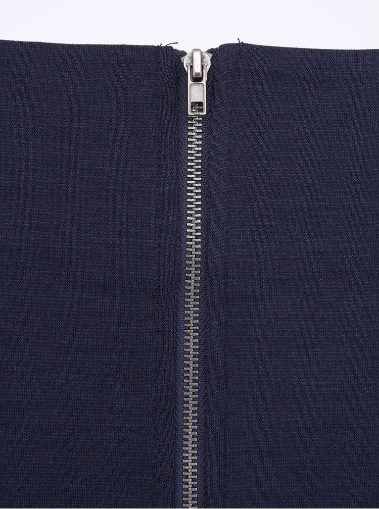 Tmavomodré minimalistické šaty ONLY Emma