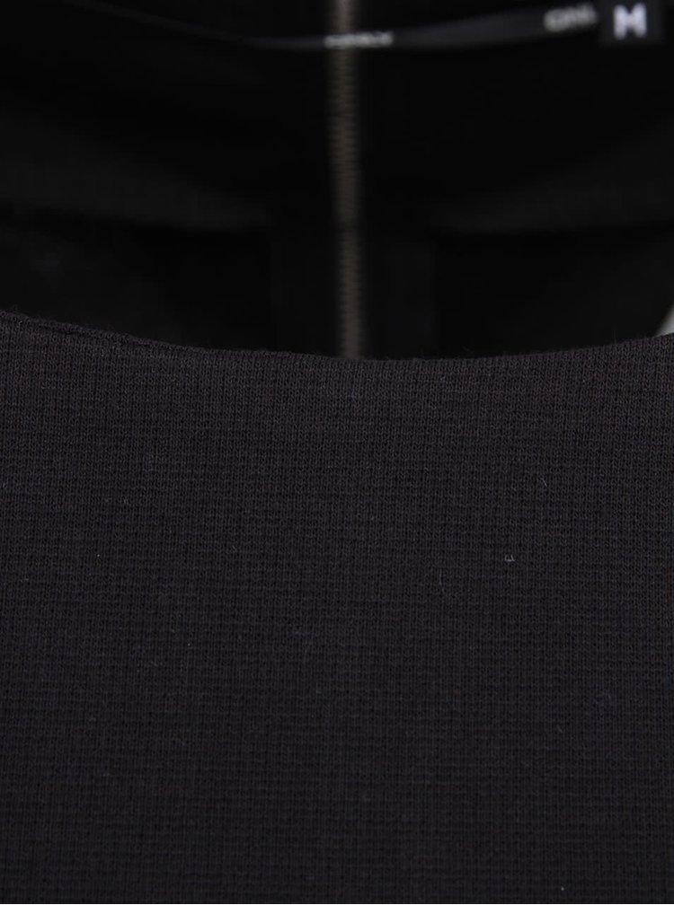 Čierne minimalistické šaty ONLY Emma