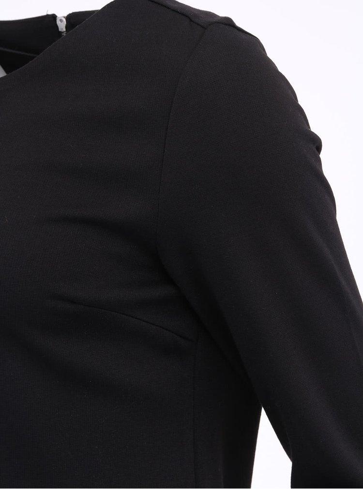 Černé minimalistické šaty ONLY Emma