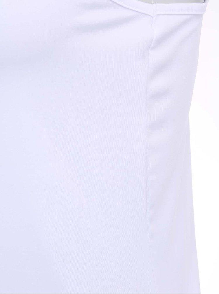 Bílé tílko s úzkými ramínky b.young Keli