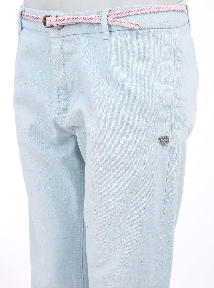 Pantaloni de dama Scotch & Soda, culoarea mentei