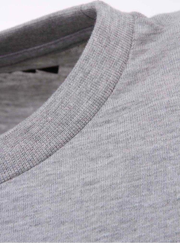 Šedé pánské triko Voi Jeans Caine