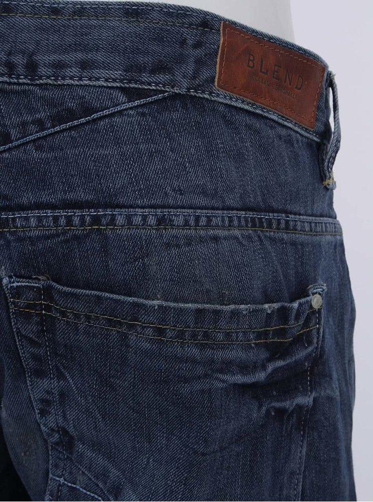 Jeanși navy uzați de la Blend